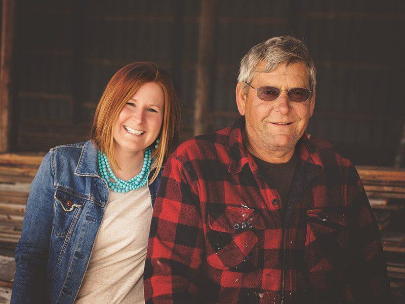 Dawn & Dad
